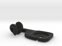 Phone Hanger in Black Strong & Flexible