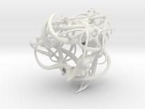 Hoorns in White Strong & Flexible