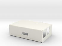Raspberry PI Computer -Sheet Metal Case - Cover in White Strong & Flexible
