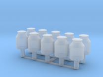 10x 10 Liter Milchkanne TT in Frosted Ultra Detail