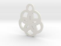 flower2 in White Strong & Flexible