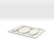 TA 4S avio parts 002 A1 in White Strong & Flexible