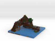 island pad 1 in Full Color Sandstone