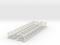 Lattice jib parts for Kibri #13005 in White Strong & Flexible