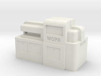 WOPR Computer, Small in White Strong & Flexible