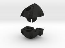 Wrecker Ironfist Head - Bullet Hole in Black Acrylic