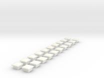 NL102 - Kabelbakken (H0) in White Strong & Flexible Polished