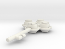 LLAVE in White Strong & Flexible