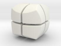 Mini Hexaball 2x2 in White Strong & Flexible