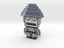 DevoBot Series 1 B/W with Glasses Mark Mothersbaug in Full Color Sandstone