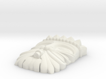 mask 99 Cannelle - L'Aquila in White Strong & Flexible