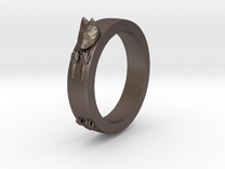 Kitty Ring ~ Size 8 in Stainless Steel