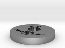 The AZ in silver in Raw Silver