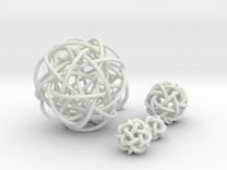 Five Simplest Poly-Twistors in White Strong & Flexible