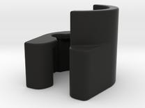 Bugaboo Wheelie Board Bracket Left in Black Strong & Flexible