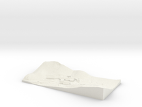 topographical overlay in White Strong & Flexible