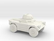 1:144 Daimler FERRET in White Strong & Flexible