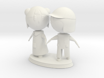Kids Statue in White Strong & Flexible