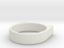 Anillogato in White Strong & Flexible