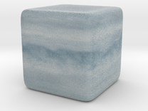 Cube Planet : Uranus, 1inch in Full Color Sandstone