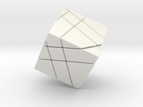 Limbo Cube 25 in White Strong & Flexible