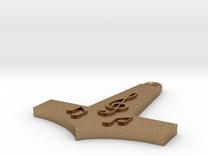 Musical Hammer 012 in Raw Brass
