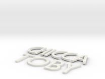 Targa-Saimer in White Strong & Flexible