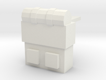 Backpack-002 in White Strong & Flexible