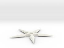 Ninja Star in White Strong & Flexible