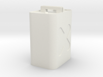 Gas Can in White Strong & Flexible