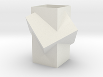 Vase (small) in White Strong & Flexible