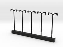 Par Double Lamps in Black Strong & Flexible