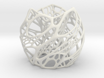 Cellular Lamp Scaled in White Strong & Flexible