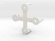Naze32Rev5 Clip (rightangle pins) -Beta in White Strong & Flexible