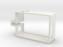 GoPro Hero3 Frame Vertical in White Strong & Flexible