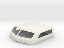 """KW Style 86"""" Standup Bunk Cap in White Strong & Flexible"""