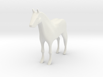 HORSE in White Strong & Flexible