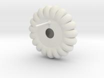 Lyncorin Earring 1 in White Strong & Flexible