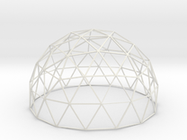 BioDome Model A 1:30th Scale in White Strong & Flexible