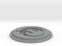 Salamander Team Disk in Polished Metallic Plastic