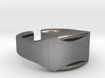 Heavy Ring model 1.3 in Polished Nickel Steel