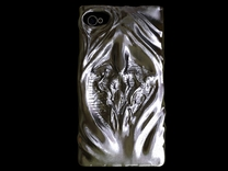 Prometheus iPhone Case in White Strong & Flexible Polished
