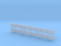 HO Scale Amtrak Style Difco Side Panels in Frosted Ultra Detail