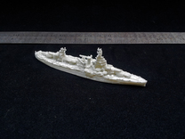 USN BB35 Texas[1944] in White Strong & Flexible: 1:1800