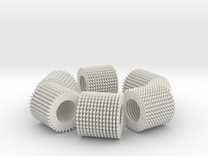 loop test part (78 loose parts) in White Strong & Flexible