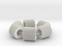 loop test (78 parts on a loop) in White Strong & Flexible