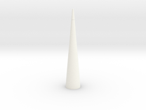 Nike Smoke Nose Cone for T-35mm Pt2 in White Strong & Flexible Polished