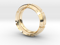 Armored Ring in 14K Gold