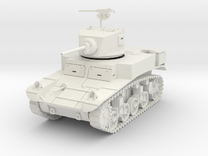 PV31A M3A1 Stuart Light Tank (28mm) in White Strong & Flexible