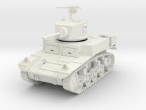 PV31A M3A1 Stuart Light Tank (28mm) in White Strong & Flexible